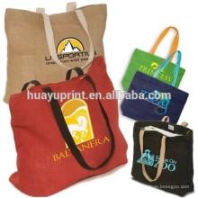 Grand sac à provisions, toile, coton et lin, coton, tissu Oxford, sac à provisions pliable