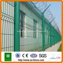 Poteau de clôture en acier galvanisé usine