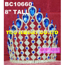 Garotas de tiara de festa coroas crianças princesa tiara