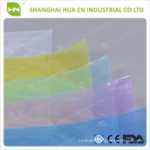 Pink Disposable dental Plastic Blue Barrier Film