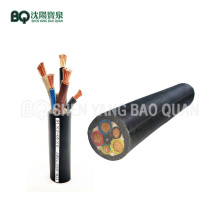 Câble d'alimentation flexible pour grue à tour