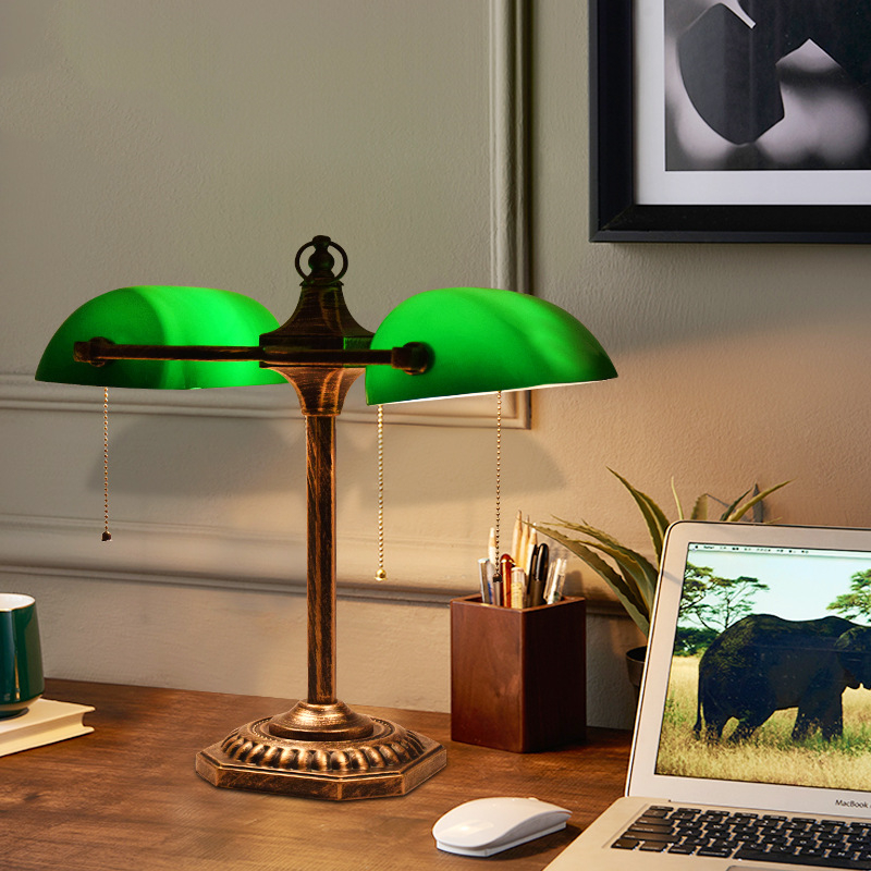 1Application Square Bedside Lamps