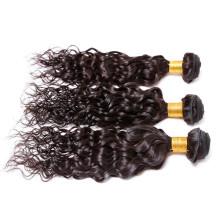 Top-Qualität kann unverarbeitete natives brasilianische Haar-Erweiterungen-frei-Probe eingefärbt werden