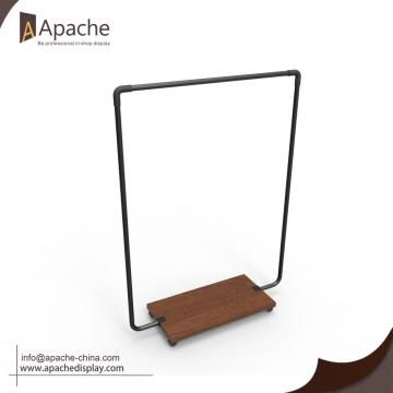 Stainless Steel Moveable Garment Display Stand