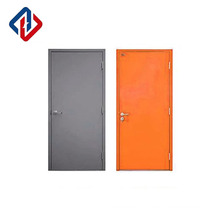 EN1634 factory direct sale 30mins single leaf fire rated security doors with lockset