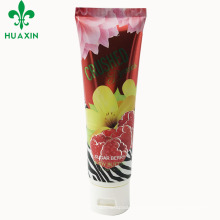 plastic dessert tube eco-friendly soap cosmetic packaging