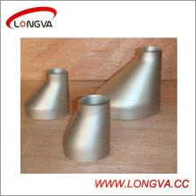 Réducteur d'ajustement des tuyaux à souder en acier inoxydable excentrique