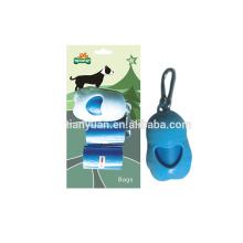 Colorful Cute Shape Case Holder Box Pet Dog Poop Hunde Kissen Portable Waste Bag