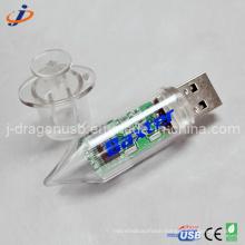 Plastic Doctor Syringe USB Flash Drive for Promotion