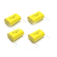 Topmay 1.8UF 10% 400VDC Axial Type Metallized Polyester Film Capacitor