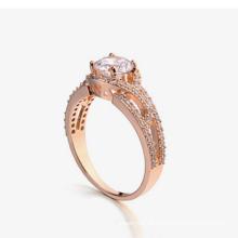 Moda nova design jóias acessórios anel de casamento do diamante delicado anéis de casamento design para a mulher