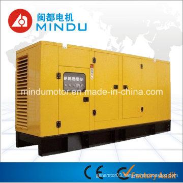 Low Fuel Consumption Silent Weichai 250kVA Diesel Generator