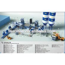 cement block production