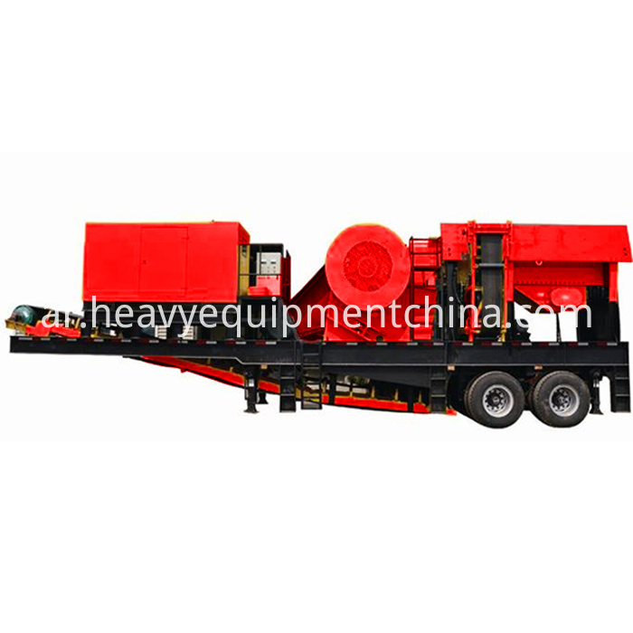 Construction Waste Crushing Unit