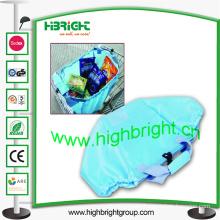 210d Supermarket Polyester Trolley Bag