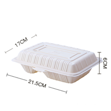 Food packaging containers for food 1800ml /Disposable Corn Starch Food Container