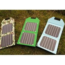 6 Вт складной sunpower солнечное зарядное устройство мобильного телефона для электрической книги для iPad