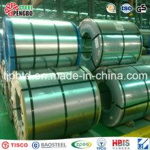 Bobina de acero aluzinc / Galvalume / bobina de acero galvanizado Dx51d Z100
