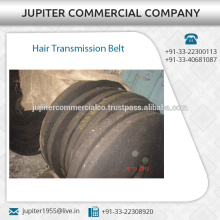 Cotton Yarn Made Hair Transmission Belt Available in Different Sizes