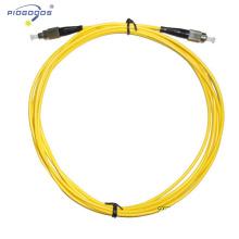 Fornecedor de porcelana do preço de fábrica do revestimento de LSZH / PVC do único modo do conector de fibra óptica de FC / UPC