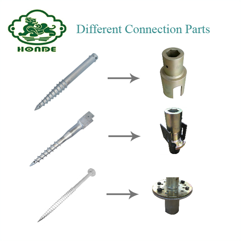 Electric Screw Piles Driver