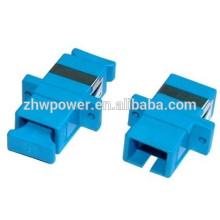 SC UPC flange adaptador de fibra ótica, sc acoplador de fibra ótica, SC upc singlemode adaptador de fibra