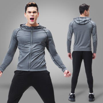 Felpe con cappuccio full zip up bodybuilding