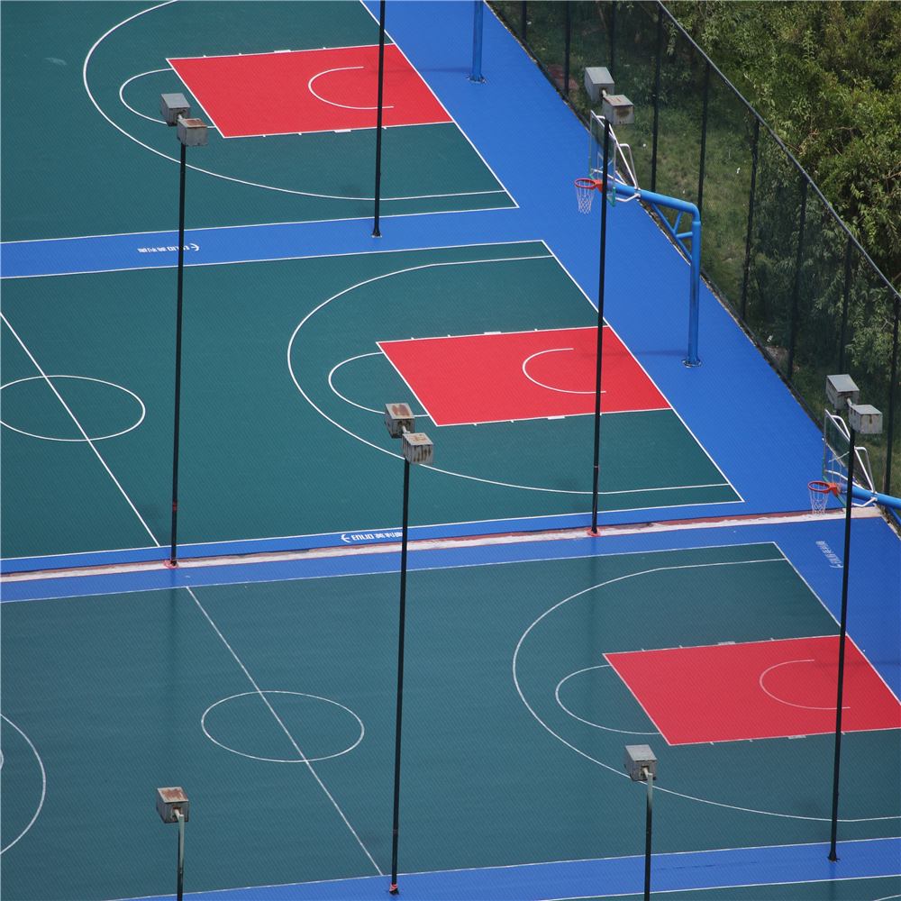 Basketball Court Tiles25