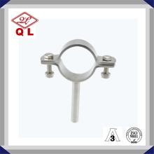 Support de tuyau sanitaire en acier inoxydable avec tube