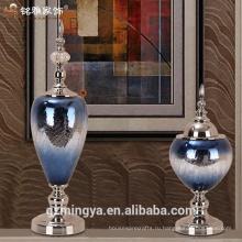 Высокий ясно стеклянные вазы для свадьбы центральные ,стеклянные вазы для цветов