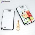 SUNMETA Sublimación de transferencia de calor en blanco 2D Phone Case