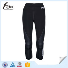 Wholesale Women Mesh Knee Tights Custom 3/4 Tights