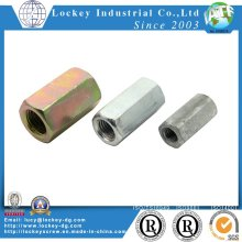 Zinc Plated Hex Coupling Nut Long Nut DIN6334