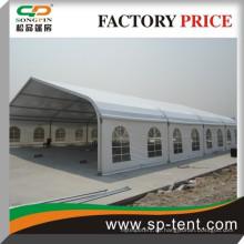 25x45m großes gekrümmtes Sportzelt für Fußball-Futsal-Handball und Tennisspiel und Event