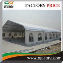 25x45m big curved sport tent for soccer futsal handball and tennis game and event