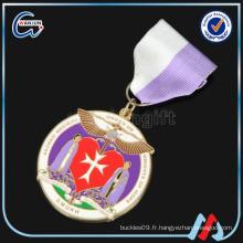 Support de médaille Golden Star Sedex 4p 3D