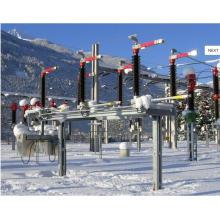170kV ao ar livre HV AC Interruptor central isolador seccionador