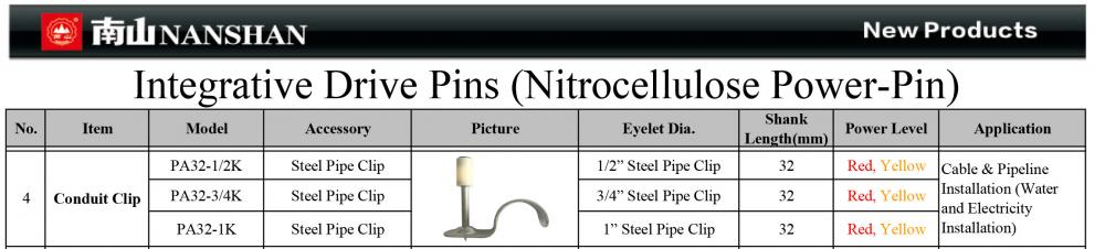 Nanshan Integrative Drive Pins 4