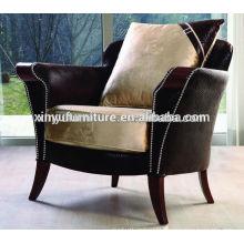2015 latest design Luxury solid wood tub chair XYD229