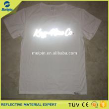 sports tshirt in reflective logo