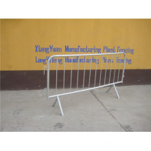 Crowd Control Barrier with Welded Mesh