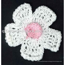 Factory Customization Crochet flower Brooch