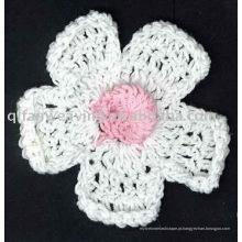 Personalização de fábrica Crochet flower Brooch