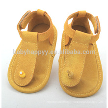 Vente en gros chaussures en cuir bébé en cuir