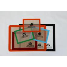 custom silicone baking mat, non-stick, easy cleaning, heat resistant.