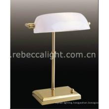 Modern Bedside Reading Banker Table Lamp