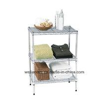 DIY 3 Tiers Metal Sala de estante Rack Shelving (LD603590A3C)