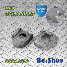 M8 Stahlband-Klemmverschluss für Rohrbefestigung