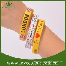 Free souvenir gift scented silicone wristband no minimum order