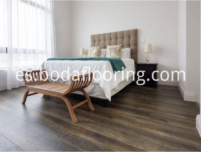 Luxury spc flooring plank tiles
